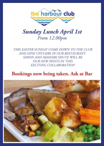 Roasts @ the harbour club
