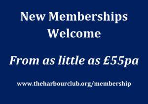 New Membership @ The Harbour Club