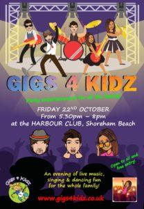 gigs 4 kidz @the harbour club