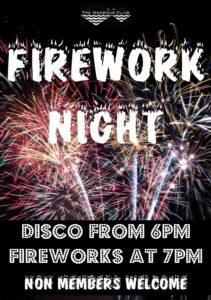 Firework Night @ the harbour club
